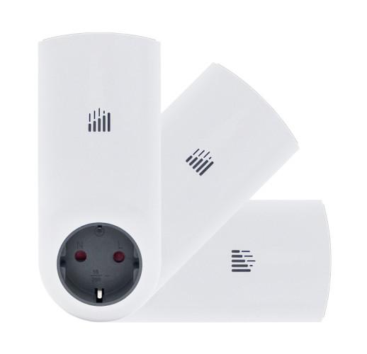 Комплект GSM розеток Телеметрика T80 и две T60 (ведущая и 2 ведомых)