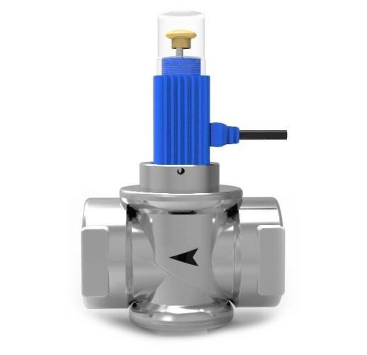 """Электромагнитный газовый клапан отсекатель Кенарь GV-90 1""""(DN25)"""