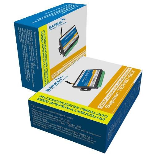 """GSM сигнализация """"Sapsan Termo-Box"""" для управления отоплением, охрана дома, гаража"""