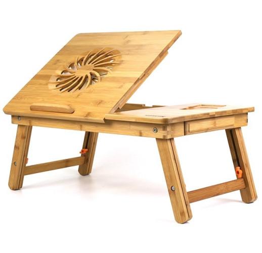 Бамбуковый столик для ноутбука SITITEK Bamboo 1