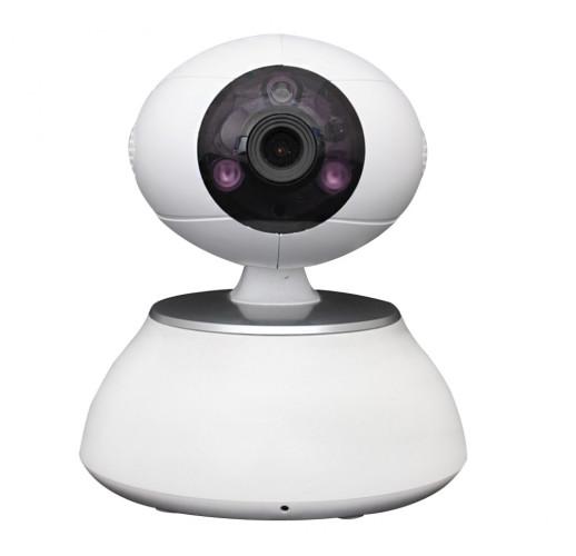 Wi-Fi видеокамера Sapsan IP-Cam iEVE комнатная с микрофоном 1.0 МП, 3.6 мм, ИК-10м, день/ночь, SD 128Гб