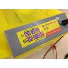 Выводной инкубатор на 96 куриных яиц с термометром, влагомером и автоматическим переворотом SITITEK 96 с автономным питанием 12В