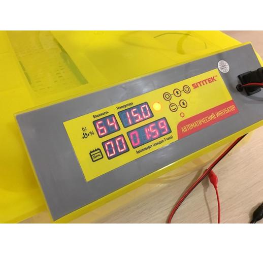 "Инкубатор для яиц с автоматическим поворотом, терморегулятором и гигрометром ""SITITEK 112"""