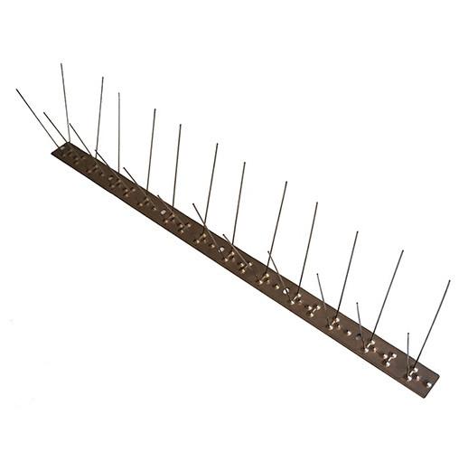"""Шипы антиприсадные от птиц """"Барьер-Премиум 2М"""" (50 см, 24 шипов, 2 ряда)"""