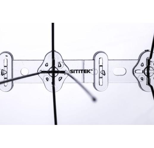 """Шипы антиприсадные от птиц """"Барьер-Премиум 3"""" (50 см, 30 шипов, 3 ряда)"""