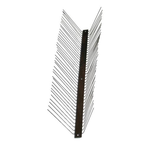 """Металлические противоприсадные шипы от птиц """"Игла С-2"""" (38 шипов, шаг между шипами 2,5 см)"""