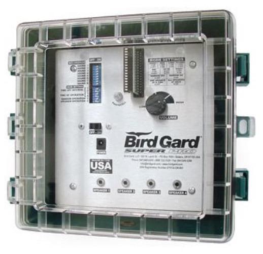 """Биоакустический отпугиватель птиц """"Bird Gard Super Pro"""" с 4 динамиками в кожухе"""