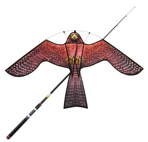 """Комплект динамического отпугивателя птиц """"Кондор"""" (воздушный змей с флагштоком 7 метра)"""