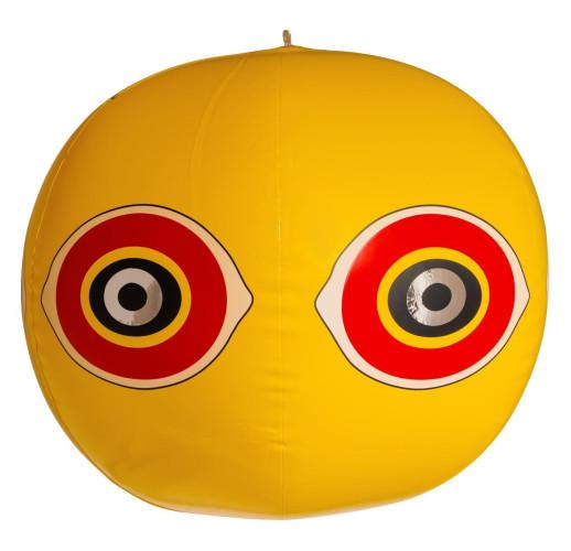 Виниловый 3D-шар от птиц с глазами хищника (диаметр 40 см)