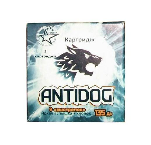 Упаковка со сменными светозвуковыми картриджами AntiDOG (3 шт)