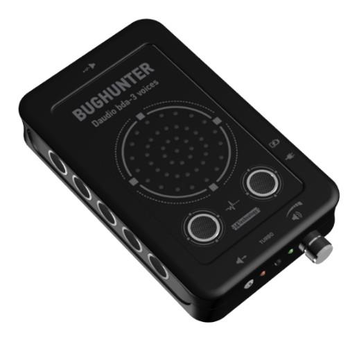 """Подавитель микрофонов, подслушивающих устройств и диктофонов """"BugHunter DAudio bda-3 Voices"""""""