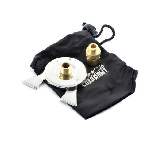Переходник адаптер на газовый картридж с цанговым зажимом PF-GSA-03